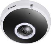 VIVOTEK FE9391-EV IP-beveiligingscamera Binnen & buiten Dome Zwart, Wit 2816 x 2816Pixels bewakingscamera