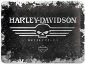 Nostalgic Art Tin Sign Harley-Davidson (15 X 20 Cm)