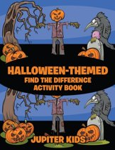 Halloween-Themed Find the Difference Activity Book