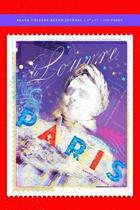 Paris Poster - Napoleon Blank College Ruled Journal 6x9
