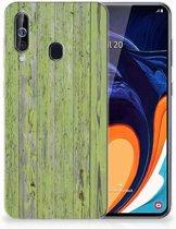 Samsung Galaxy A60 Bumper Hoesje Green Wood