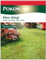 Pokon Kunstmest voor gazon Mosweg - 1750 gram (50 m²)