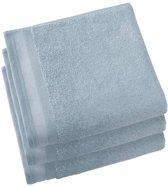 De Witte Lietaer  Contessa –  Badhanddoek 50x100 cm - set van 3 - ice blue