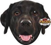 Pet Faces - Zwarte labrador