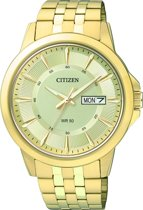 Citizen BF2013-56PE - Horloge - Leer - Goudkleurig - Ø 41 mm