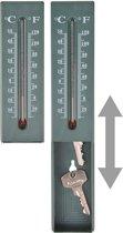 Buiten thermometer met verstop vakje voor sleutel