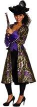 Rubie's Verkleedkostuum Piraat Dames Goud/paars Maat 40