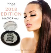 3D Magnetische Nepwimpers van Magica Lashes™ | 100% Silk fibers |Accent lash| Easy Connect
