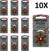 Rayovac 312 extra advanced - 60 stuks