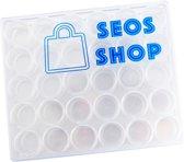 Diamond Painting Sorteer Doos - 30 doosjes met Schroefdraad - SEOS Shop ®