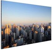 FotoCadeau.nl - Sao Paulo in ochtendlicht Aluminium 30x20 cm - Foto print op Aluminium (metaal wanddecoratie)