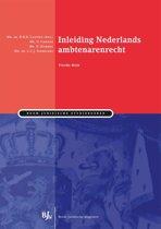 Inleiding Nederlands ambtenarenrecht