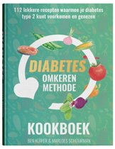 Boek cover Het Diabetes Omkeren Methode Kookboek van Ben Kuiper (Hardcover)