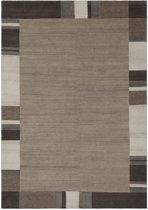 Lalee Wollen vloerkleed met natuurlijke vezels 80 x 150 Beige