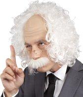 """""""Pruik Einstein voor heren Feestartikel - Verkleedpruik - One size"""""""