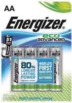 1x4 ENERGIZER Eco Advanced Mignon AA LR6 1,5V