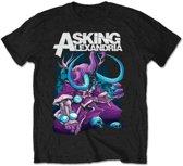 Asking Alexandria - Devour heren unisex T-shirt zwart - S