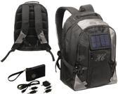 Highcamp - Solar rugzak - Backpack - 34 Liter - Zwart