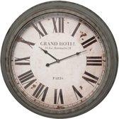 Clayre & Eef Klok Grand Hotel  64x10 cm grijs