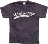 Fun t-shirt Alzheimer heren M