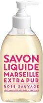 Savon de Marseille vloeibare handzeep Extra Pur Rose Sauvage 300 ml