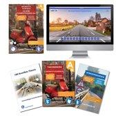 Scooter Theorieboek 2019 met Scooter theorie samenvatting - Verkeersbordenboekje en een uitgebreide oefen Bromfiets Theorie CD-ROM