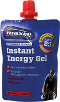 12x Maxim Energy Gel Strawberry + Magnesium 100g