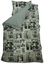 Bink Bedding Fashion Dekbedovertrek - Grijs - 140x200/220 cm