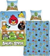Angry birds Dekbed all 140x200 / 60x70 cm