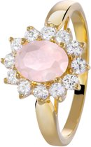 Eve - Eve goldplated ring milky pink
