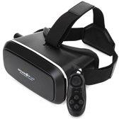 BlitzWolf™ Virtual Reality Bril Zwart Met Bluetooth Afstandsbediening