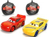 RC Cars 3 Twin Pack Lightning McQueen + Cruz