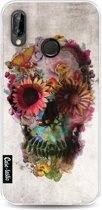 Casetastic Softcover Huawei P20 Lite - Skull 2