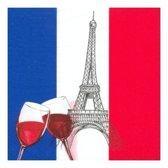 Frankrijk servetten