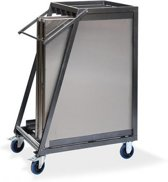 Trolley voor transport Multitafels RVS (Multitafels niet inbegrepen)