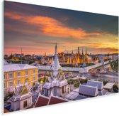Het Thaise Koninklijk paleis van Bangkok in Azië Plexiglas 90x60 cm - Foto print op Glas (Plexiglas wanddecoratie)