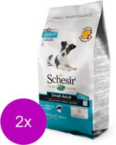 Schesir Small Adult Fish - Hond - Droogvoer - 2 x 2 kg
