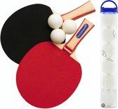 Rucanor Super Tafeltennis Batjes Set incl.  extra set Tafeltennisballen Combideal!