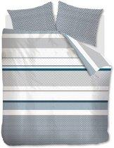 Beddinghouse Lenz - Dekbedovertrek - Tweepersoons - 200x200/220 cm + 2 kussenslopen 60x70 cm - Petrol