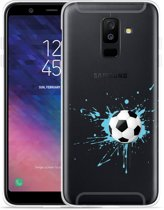 Galaxy A6 Plus 2018 hoesje Soccer Ball