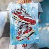 Nike air max 1 art print (50x70cm)