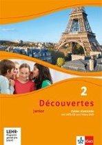 Découvertes Junior 2. Cahier d'activités mit MP3-CD und Video-DVD