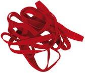 elastieken Alco 130x10mm 500 gram in doos rood