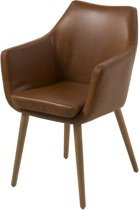 Nora carver fauteuil - Cognac