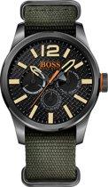 Hugo Boss Orange HO1513312 Horloge - Canvas - Groen - 47mm