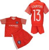 Chelsea - Courtois 13 - Set Shirt & Broek - Size 4 jaar - Oranje/Wit