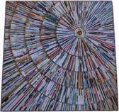 Wanddecoratie Lesti 53x53cm