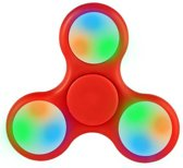 Luxe Fidget spinner LED Rood | Hand spinner | Anti-stress | Ontspanning
