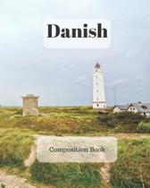 Danish Composition Book: a college ruled notebook for your exercises, assignments and notes