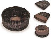 Snuggle Bed Truffel Bruin maat XL. P.L.A.Y.